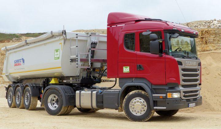 Scania R 450 4x2-Bausattel