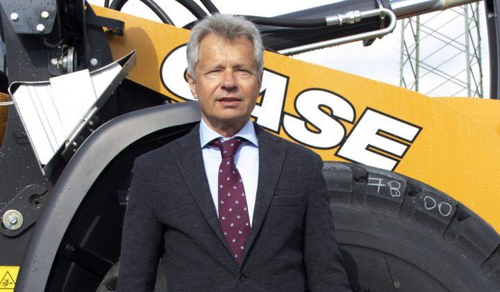 Wilfried Tschich Business Director Case Construction Equipment