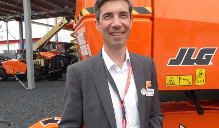 Laurent Montenay, Geschäftsführer, JLG Deutschland