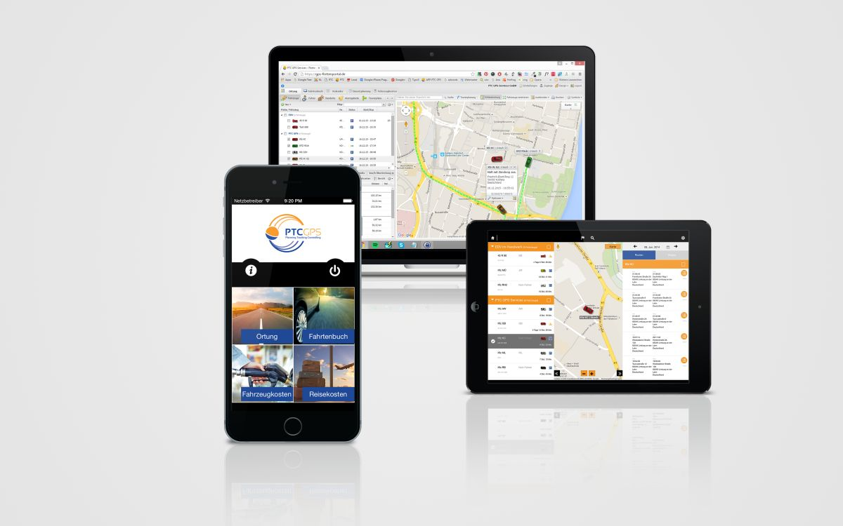 PTC GPS-Services Telematik-Lösung