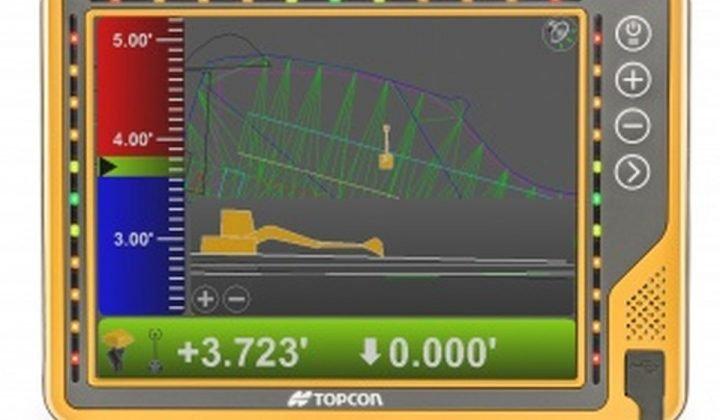 Topcon Touchscreen Display