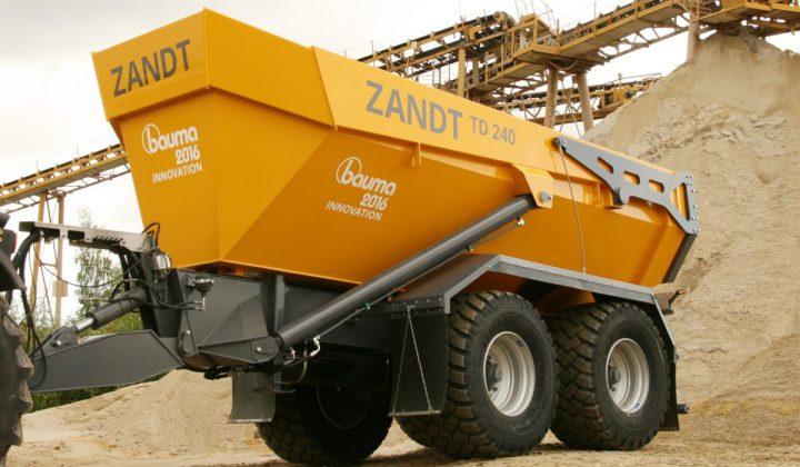 Zandt Cargo Tandem-Dumper TD240