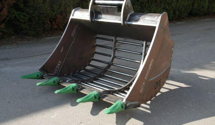 HS Schoch Gitterlöffel aus Hardox-400-Rundmaterial