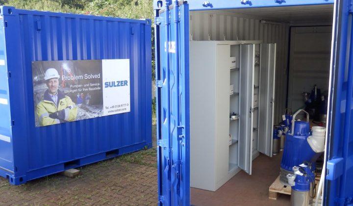 Sulzer Werkstattcontainer