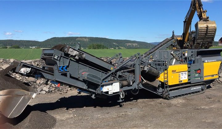 Rubble Master mobile Prallbrecher RM 120GO