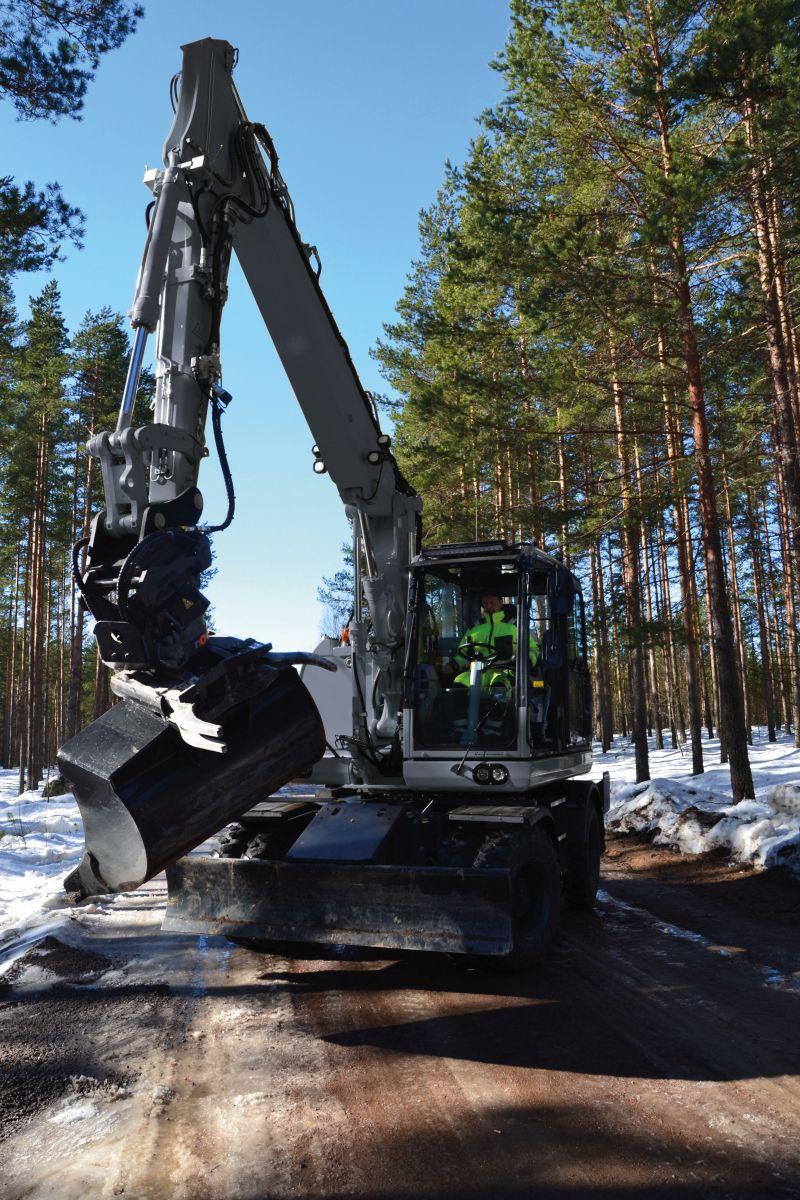 Kinshofer Hydraulikbagger TR19NOX mit Tiltrotator