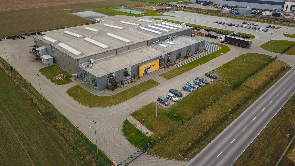 Engcon Produktion in Polen
