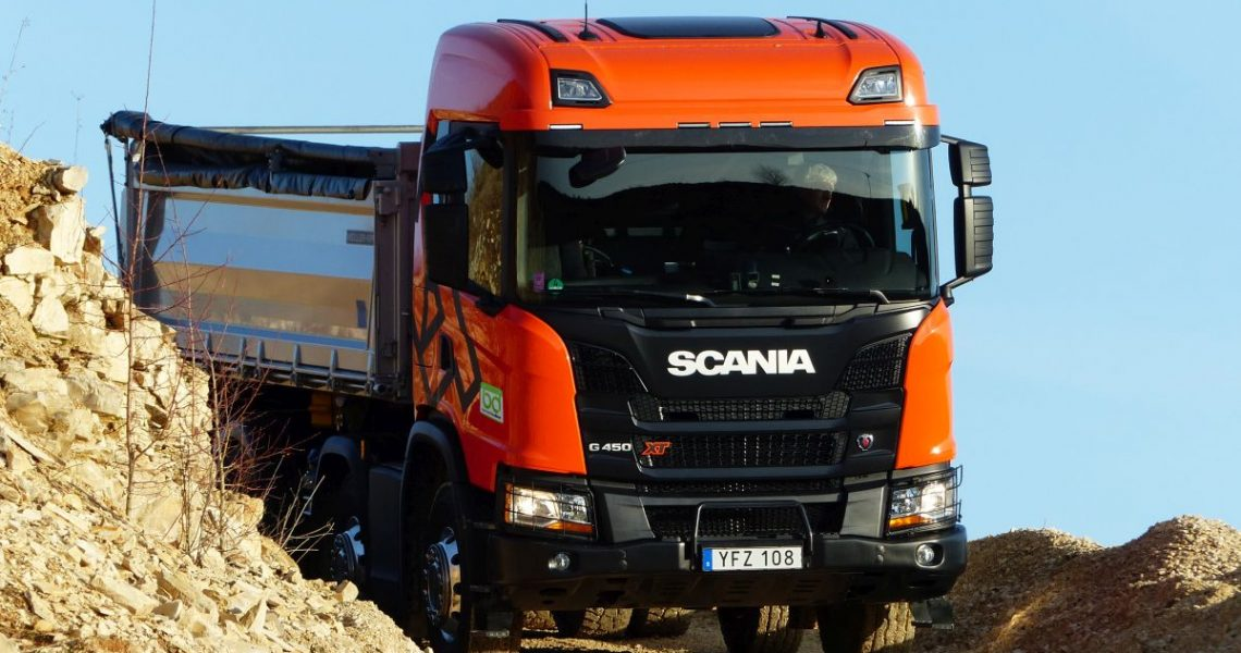 Scania G 450 XT 8x4