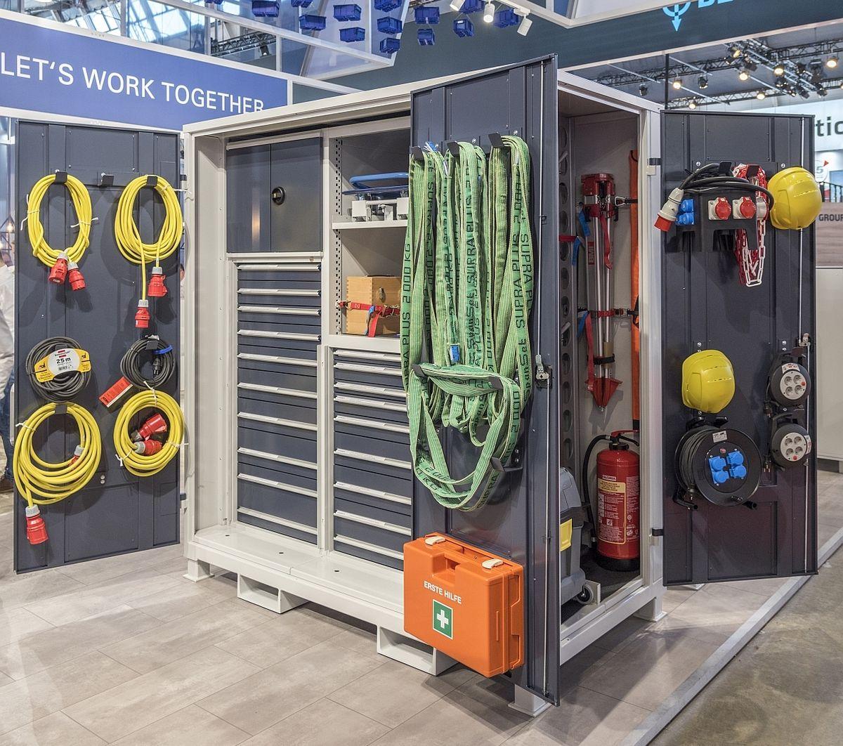 Hahn + Kob Werkstatt Container