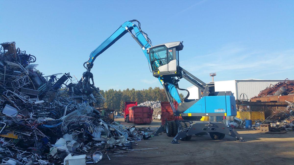 Kiesel Systemlösungen für Recycling