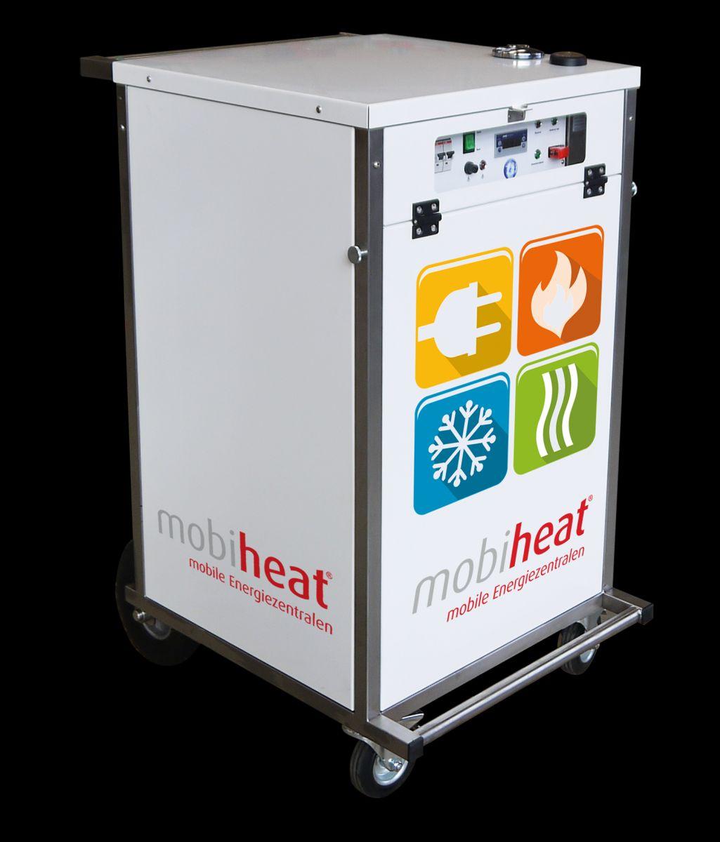 Mobile Hybrid-Heizzentrale von Mobiheat