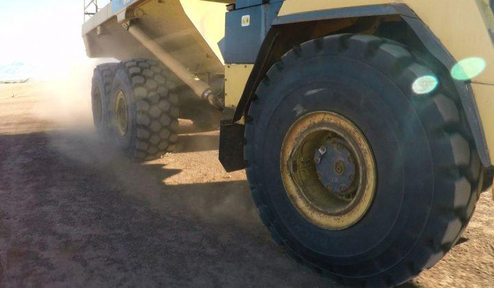 Michelin Dumperreifen für Steinbrüche und Tagebau