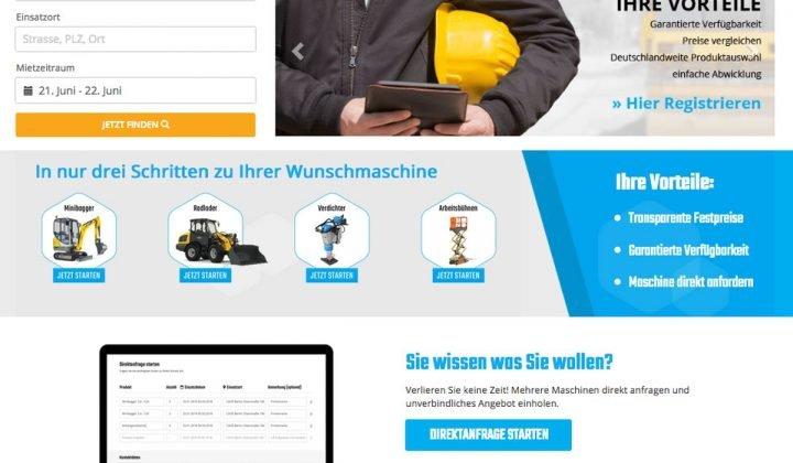 Online-Plattform Zeppelin klickrent