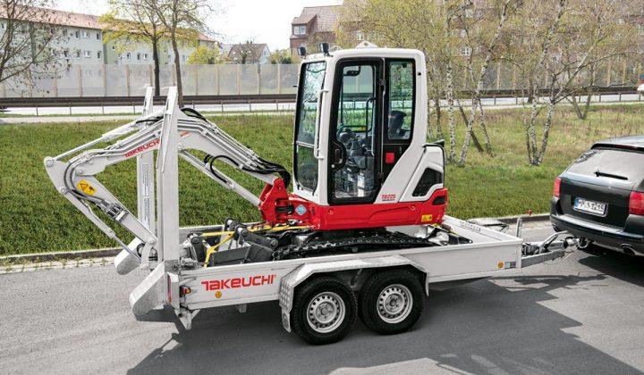 Takeuchi Kompaktbagger