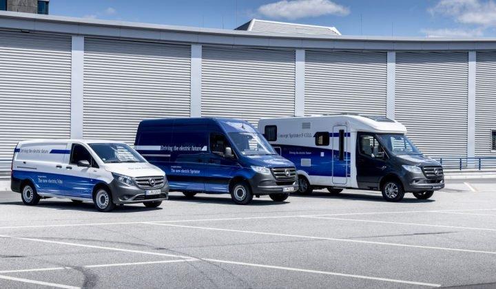 Daimlers E-Portfolio: eVito, eSprinter und das Wohnmobil auf Sprinter-Basis