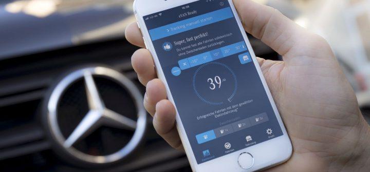 Mercedes App eVan Ready