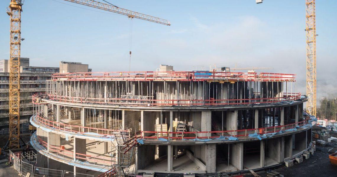Herstellung des Rohbaus des Rhön-Klinikum-Campus Bad Neustadt