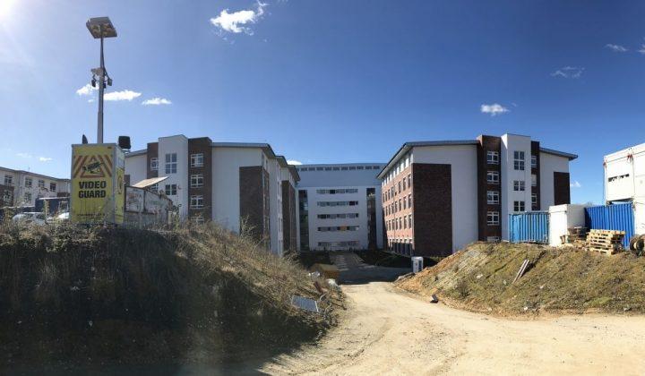 Baustellenbewachung durch International Security Group und Maibach Velen