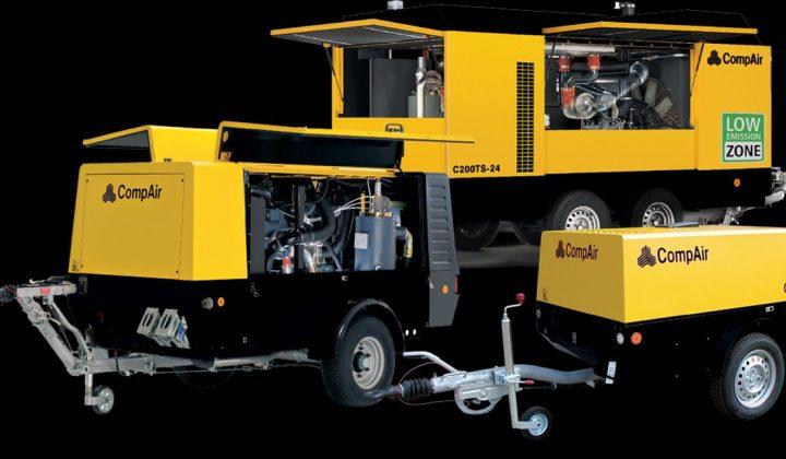 Baukompressoren von Comp Air