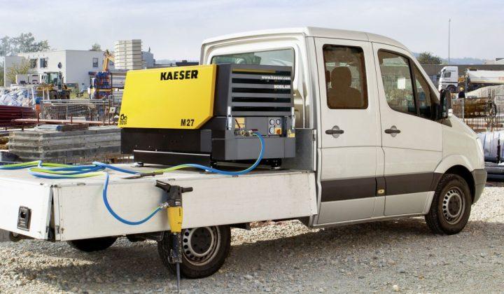 Baukompressor von Kaeser