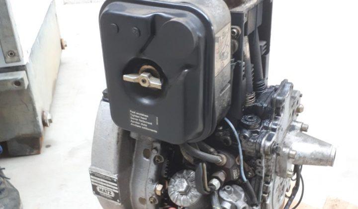 Wasserpumpe von BBA mit Hatz Motor