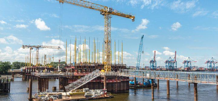 Kattwykbrücke in Hamburg