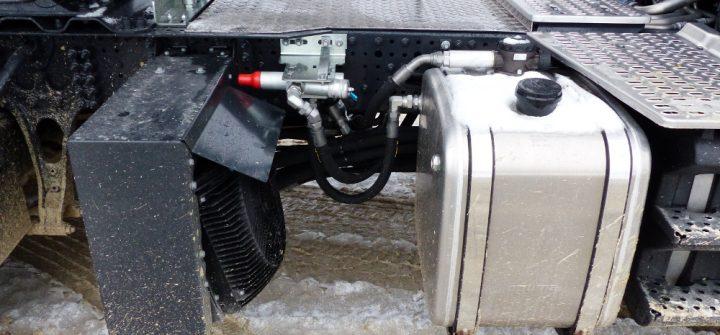 Iveco X-Way Hydraulikantrieb