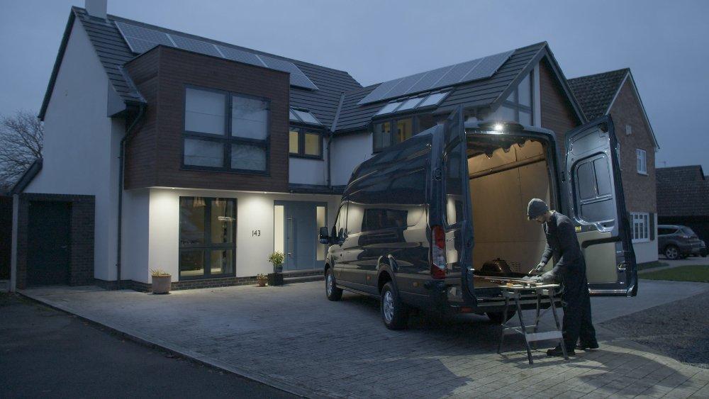Ford Transit LED-Außenleuchte