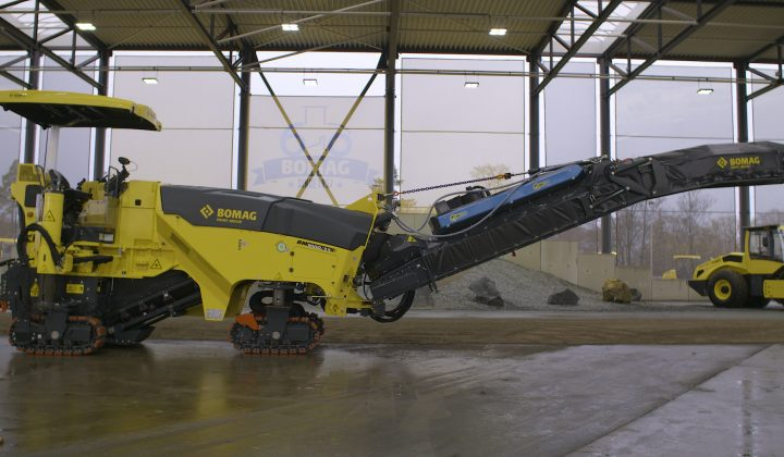 Bomag Ion-Dust-Shield-Technologie