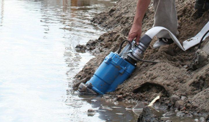 Tsurumi Wasserpumpe für Schmutzwasser