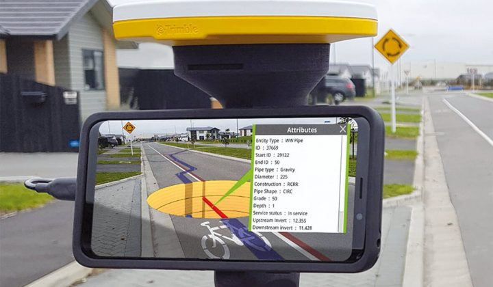Augmented Reality-System Site-Vision von Trimble