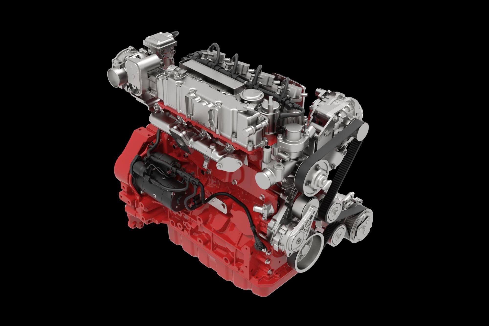 Flüssiggasmotor (LPG) von Deutz