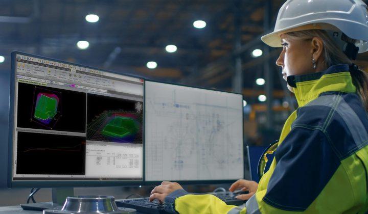 Topcon-Software Management Rohrleitungsbau