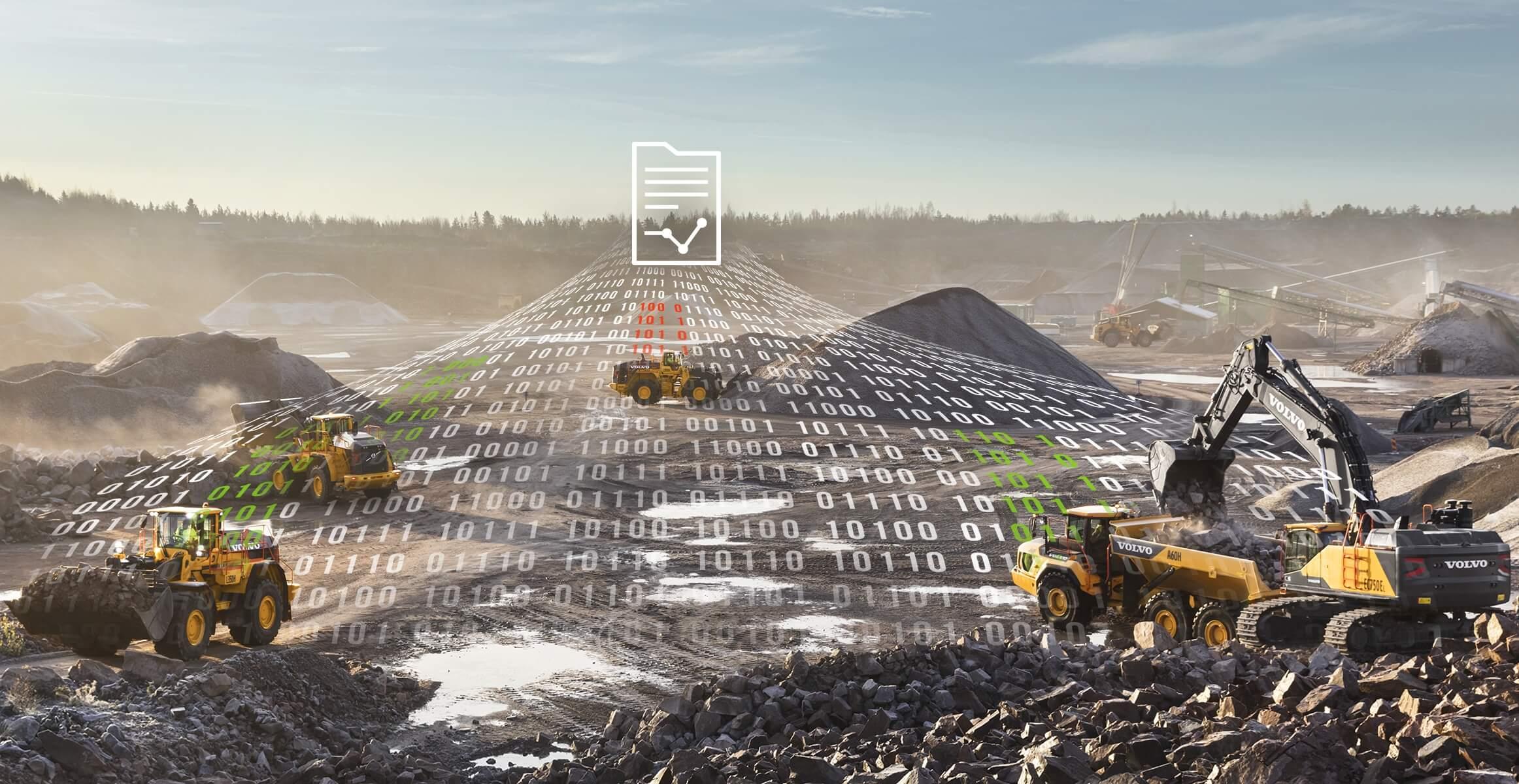Telematik-Analyseservice von Volvo