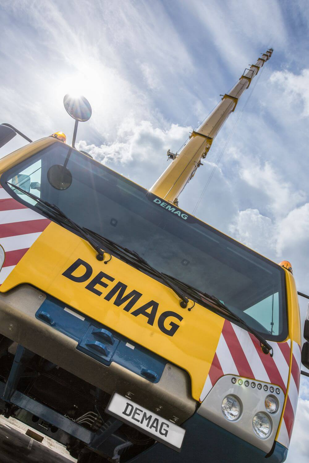 Demag-Mobilkransparte