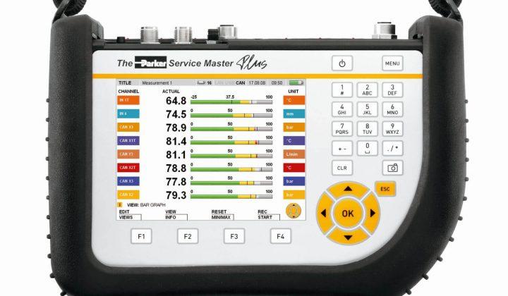 Parker Handmessgerät Service Master Plus