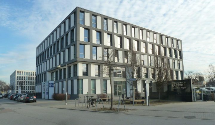 Architekturbeton in Form von Sandwich-Fassadenelementen
