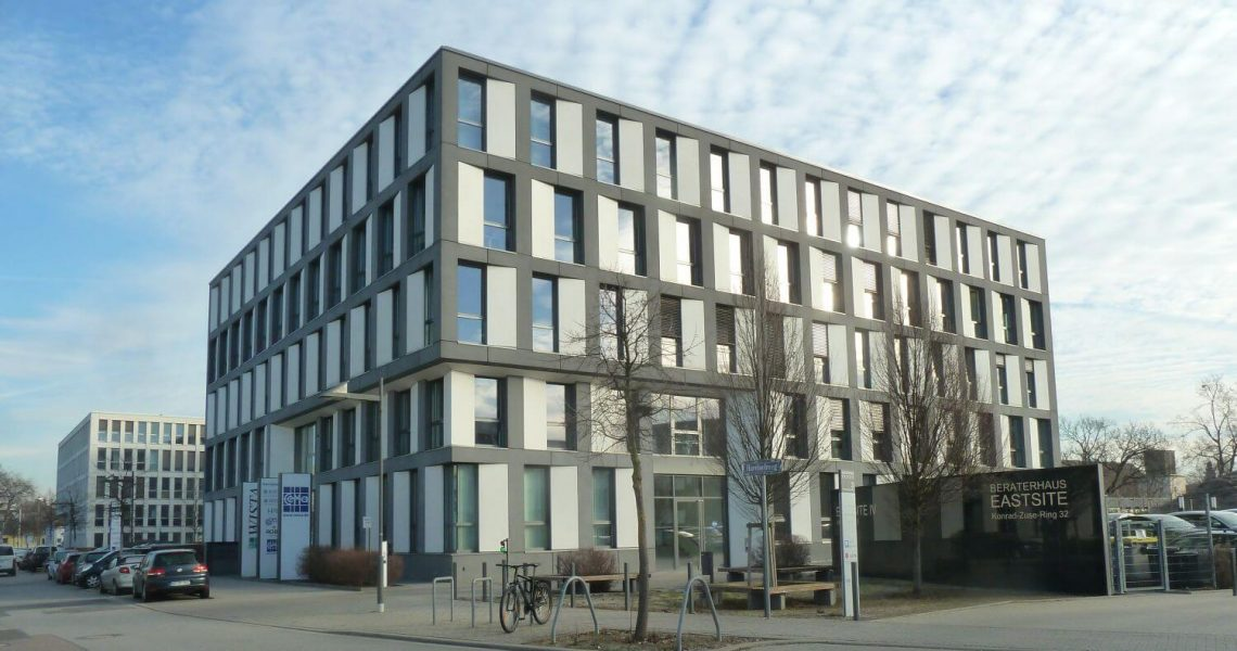 Sichtbeton im Merck-Innovatinszentrum in Darmstadt