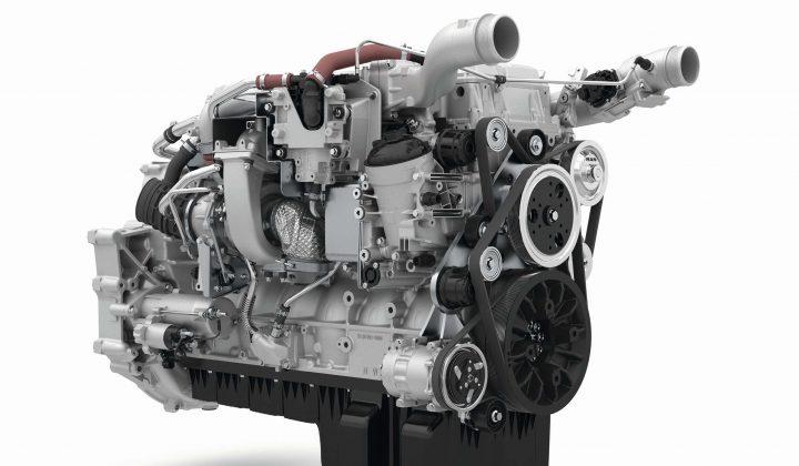 9-l-Reihensechszylinder Dieselmotor von MAN