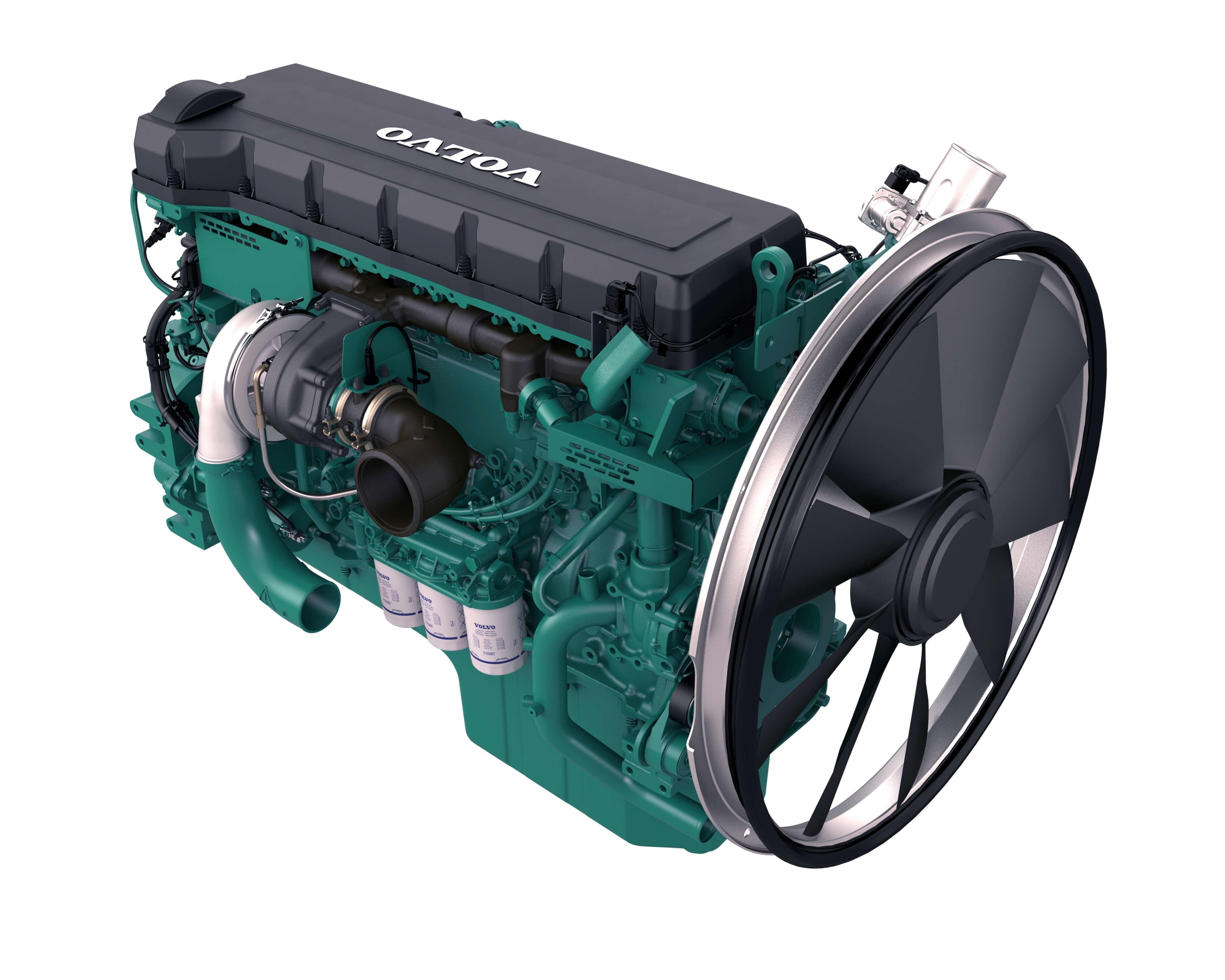 Motor von Volvo CE für Stufe-V-Motoren