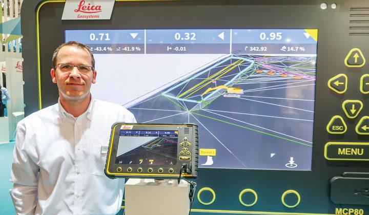 Jan Hakert, Segment Manager Deutschland bei Leica Geosystems