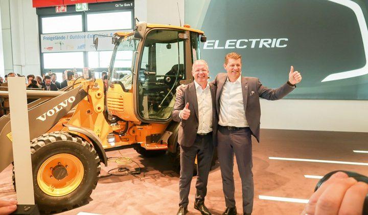 Elektro-Kompaktbagger und -Radlader von Volvo Construction