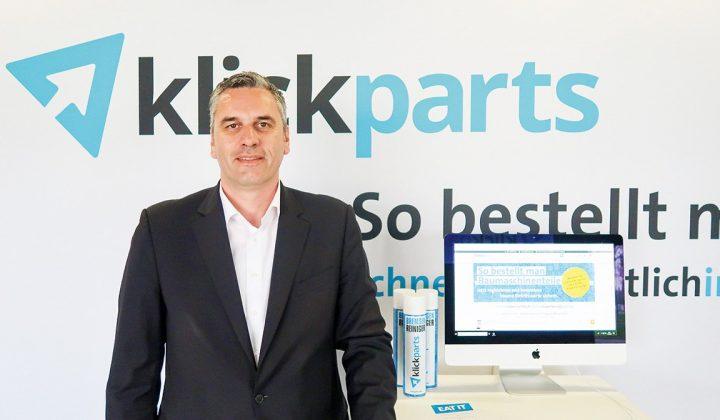 Stephan Bäumler, Geschäftsführer von Klickparts