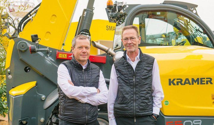 Christian Stryffeler und Karl Friedrich Hauri, Geschäftsführer bei Kramer