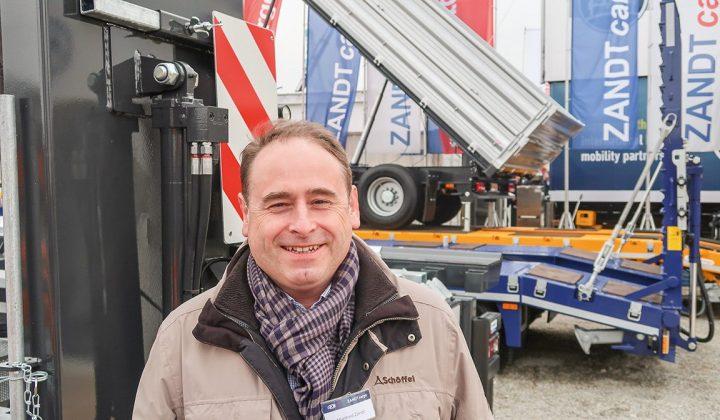 Manfred Zandt, Geschäftsführer von Zandt und Cargo