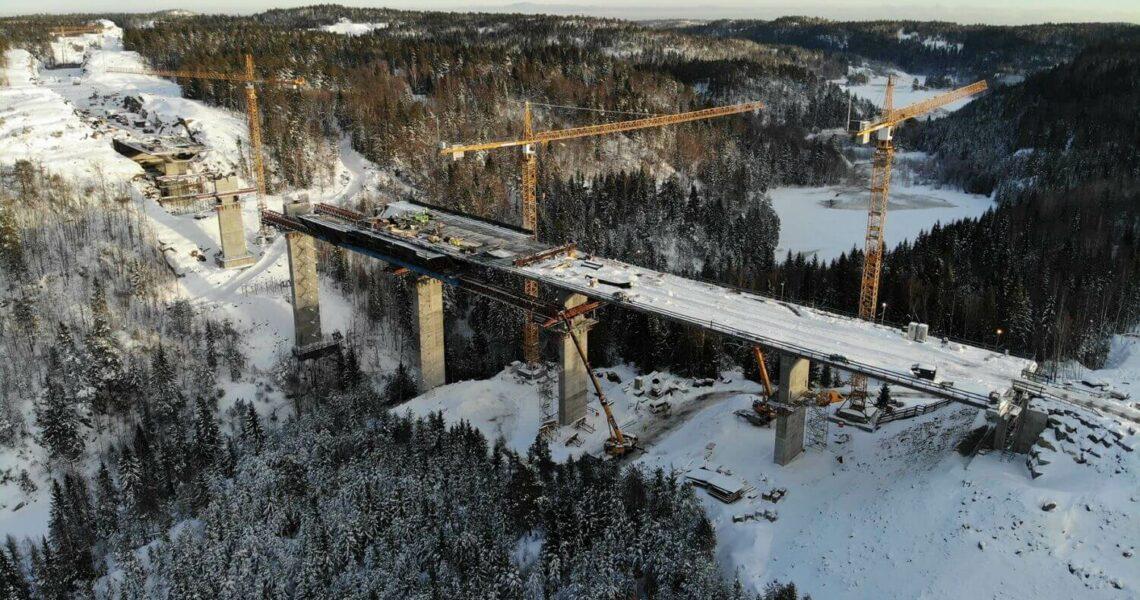 Ausbau der Europastraße E 18 in Norwegen