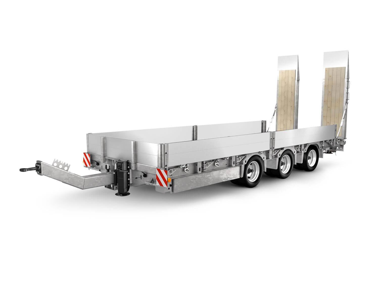 Baumaschinen-Transporter von Humbaur