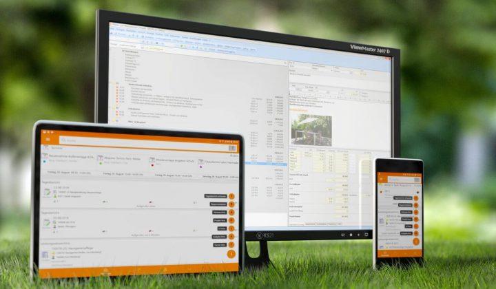 Software für Landschaftsgärtner
