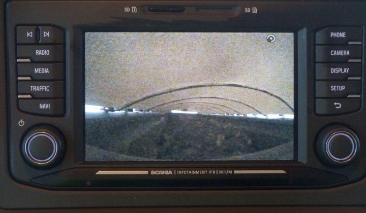 Laderaum-Kamera an der Rollplane