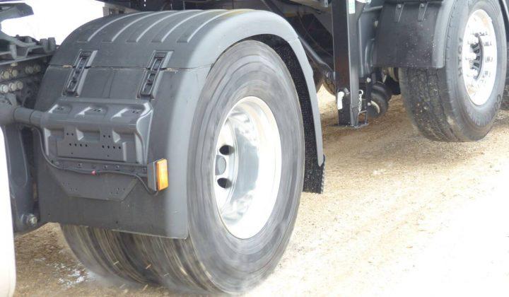 Trak-Unterstützung an der SAF-Trak-Hydro-Achse